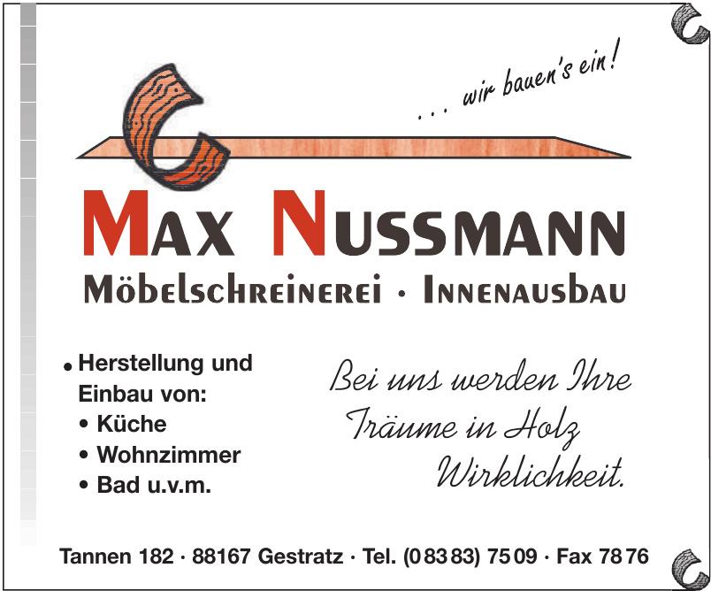 Max Nussmann