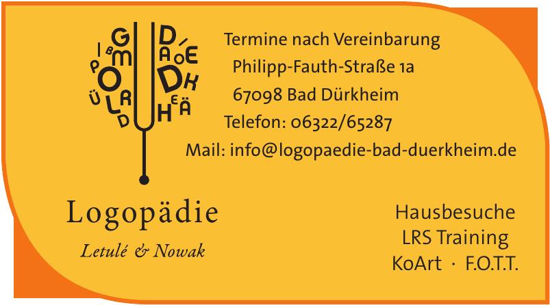 Logopädie Letulé & Nowak