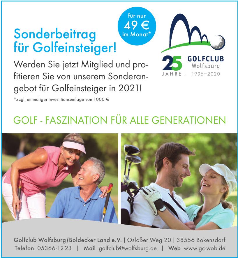 Golfclub Wolfsburg/Boldecker Land e.V.