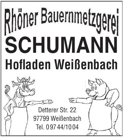 Rhöner Bauernmetzgerei Schumann