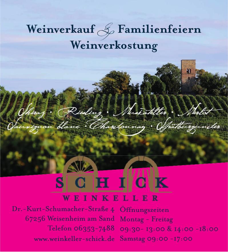 Schick Weinkeller