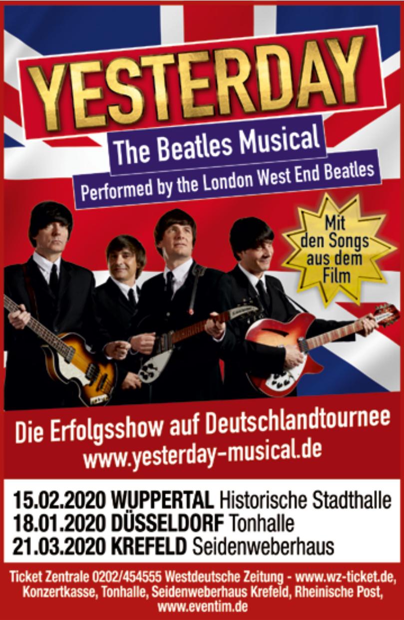 Yesterday – das Beatles-Musical