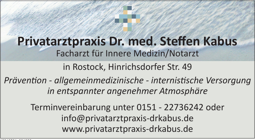 Privatarztpraxis Dr. med. Steffen Kabus
