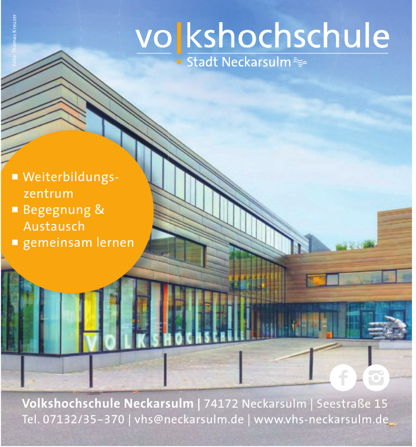 Volkshochschule Neckarsulm