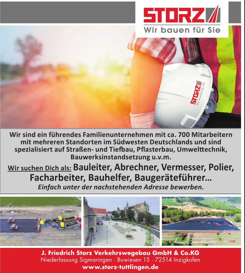 J. Friedrich Storz Verkehrswegebau GmbH & Co.KG