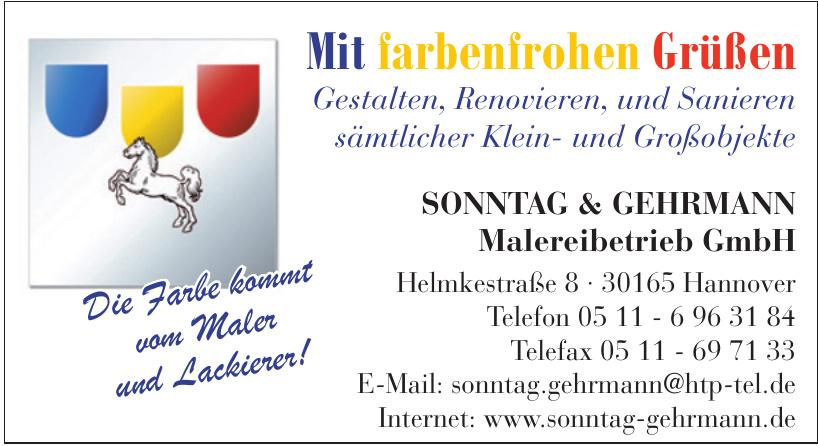 Sonntag & Gehrmann Malereibetrieb GmbH