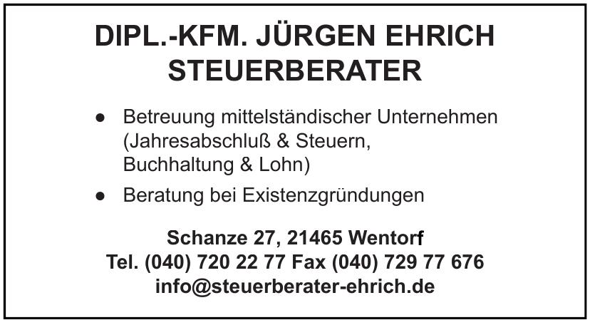 Dipl.-Kfm. Jürgen Ehrich Steuerberater