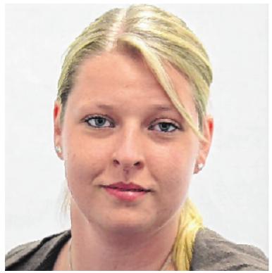 """Auch Susanne Miedreich war für das Projekt """"Standig Together"""" mit Eifer bei der Sache."""