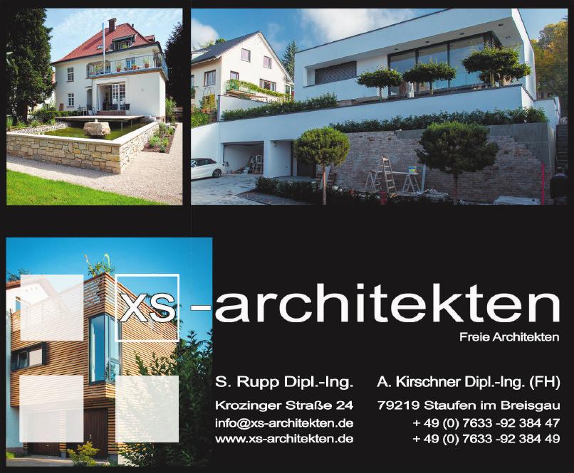 XS-architekten
