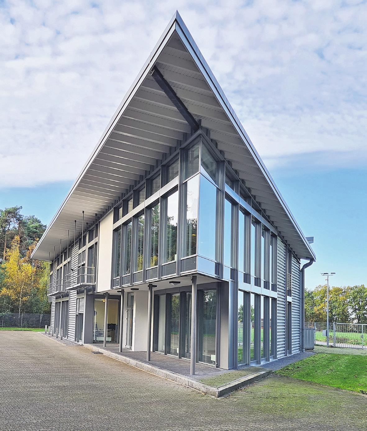 Ein sehr markantes Gebäude: Am Tannenkamp 27 findet Demand Software Solutions optimale Bedingungen vor. Foto: Wagner