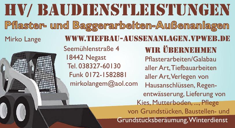 HV / Baudienstleistungen Mirko Lange