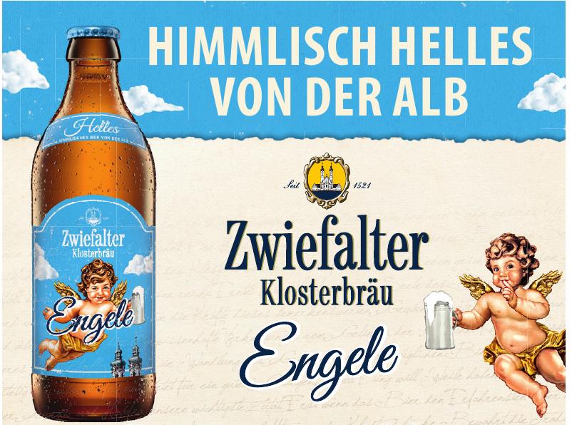 Zwiefalter Klosterbräu Engele