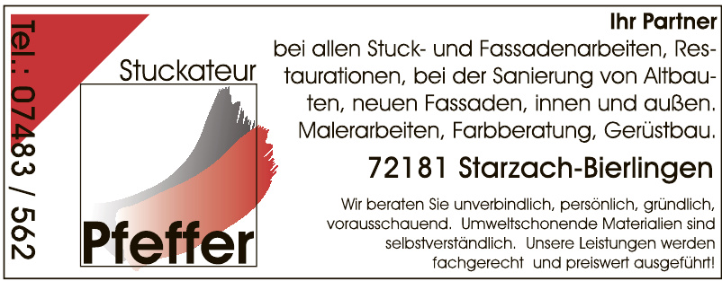Stuckateur Pfeffer