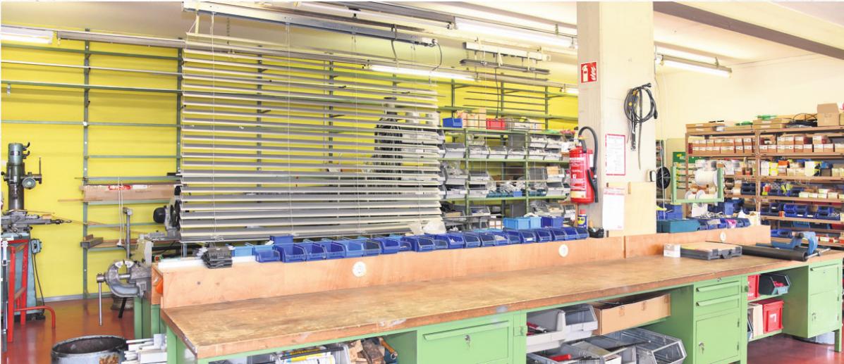 Bei Limberg werden in der firmeneigenen Werkstatt die unterschiedlichsten Reparaturen ausgeführt. Ein großes Ersatzteillager steht zudem zur Verfügung. Foto: Bergmann