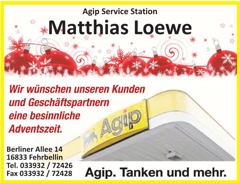 Agip Service Station Matthias Loewe
