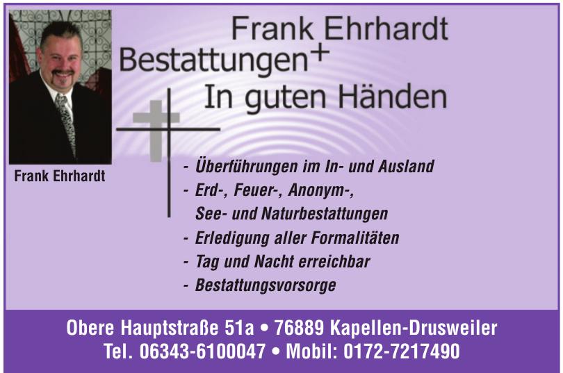 Franken Erhardt Bestattungen