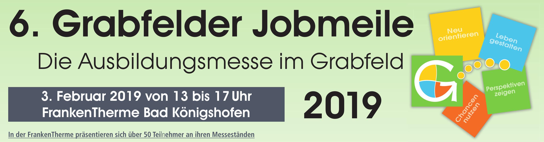 Informieren und orientieren auf der Grabfelder Jobmeile 2019 Image 1