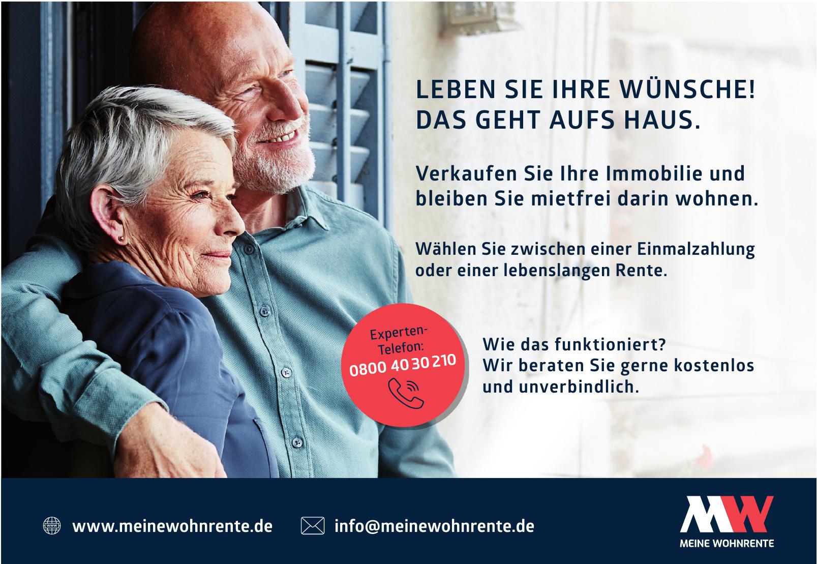 Immobilien-Renten AG Meine Wohnrente