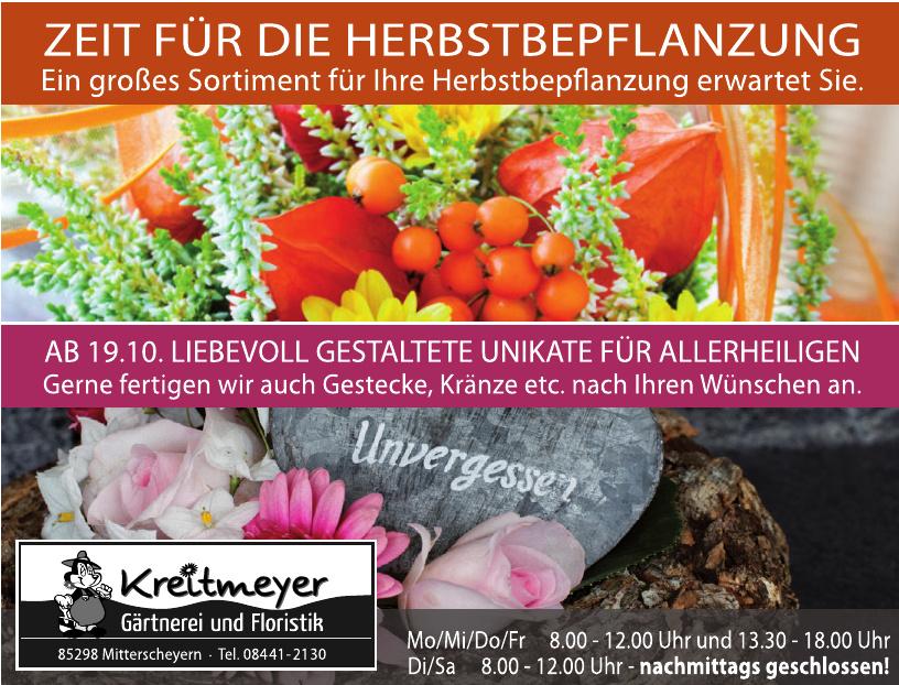 Kreitmeyer Gärtnerei und Floristik