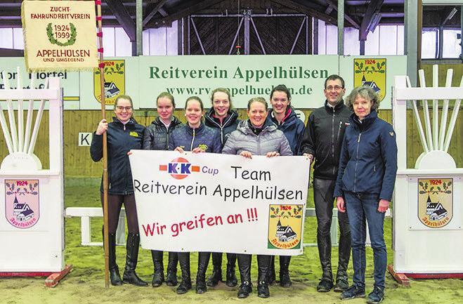 """RV Appelhülsen: Frei nach dem Motto """"Wir greifen wieder an"""" geht der Vorjahresfünfte in die diesjährige Bauernolympiade. Foto: Florian Voß"""
