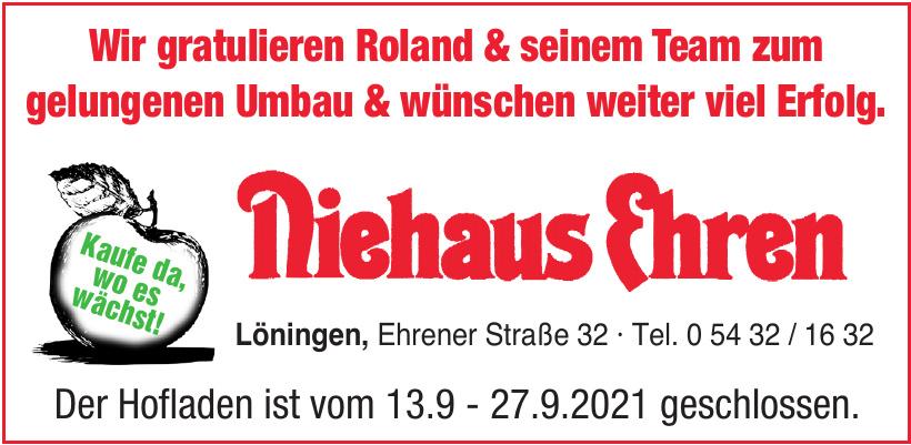 Niehaus Ehren