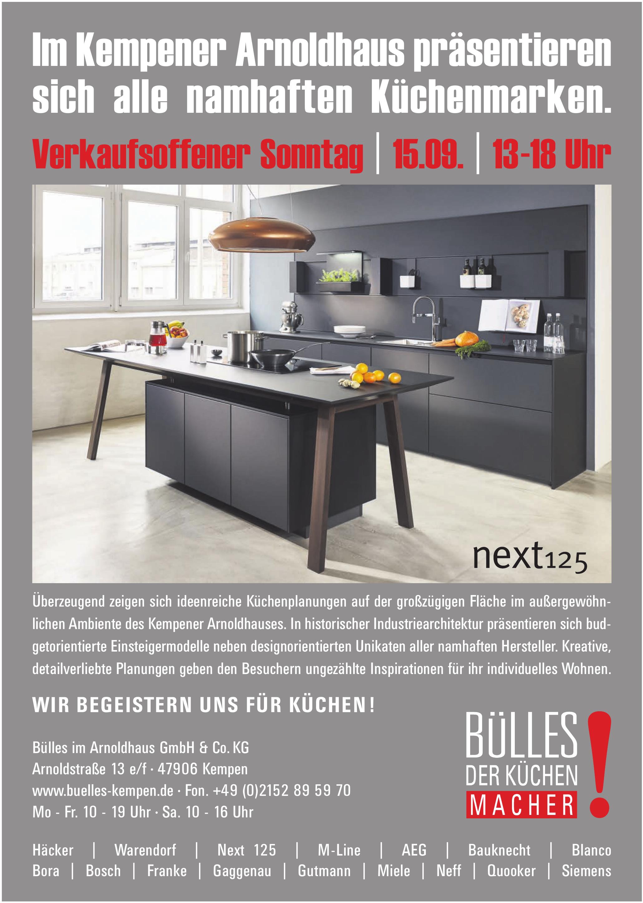 Bülles im Arnoldhaus GmbH & Co. KG
