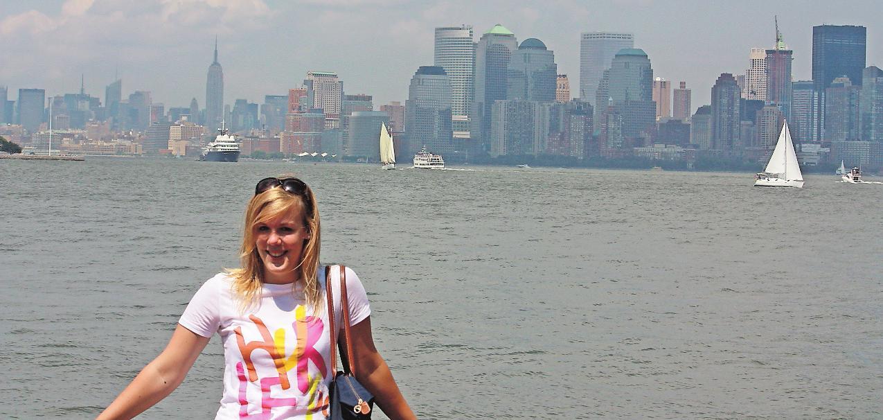 Jane Jordan von der Initiative Auslandszeit hat ein Jahr als Au-pair in den USA verbracht.FOTO: INITIATIVE AUSLANDSZEIT/DPA