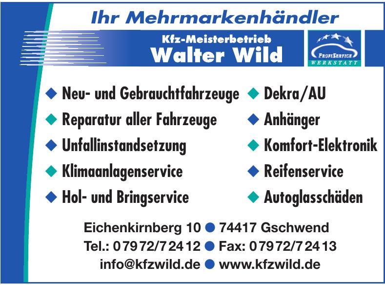 Kfz-Meisterbetrieb Walter Wild