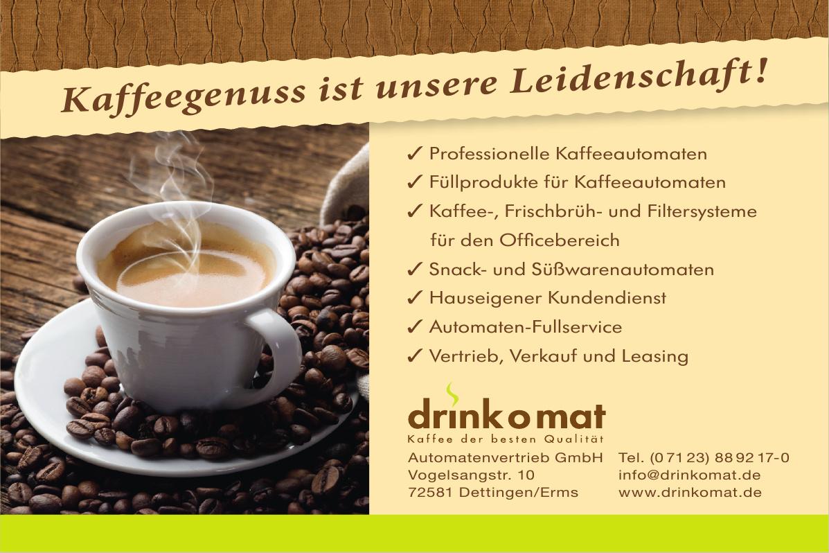 Drinkomat - Automatenvertrieb GmbH
