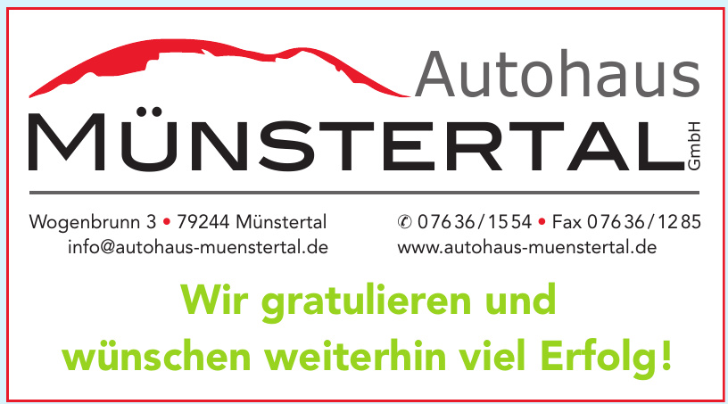 Autohaus Münstertal GmbH