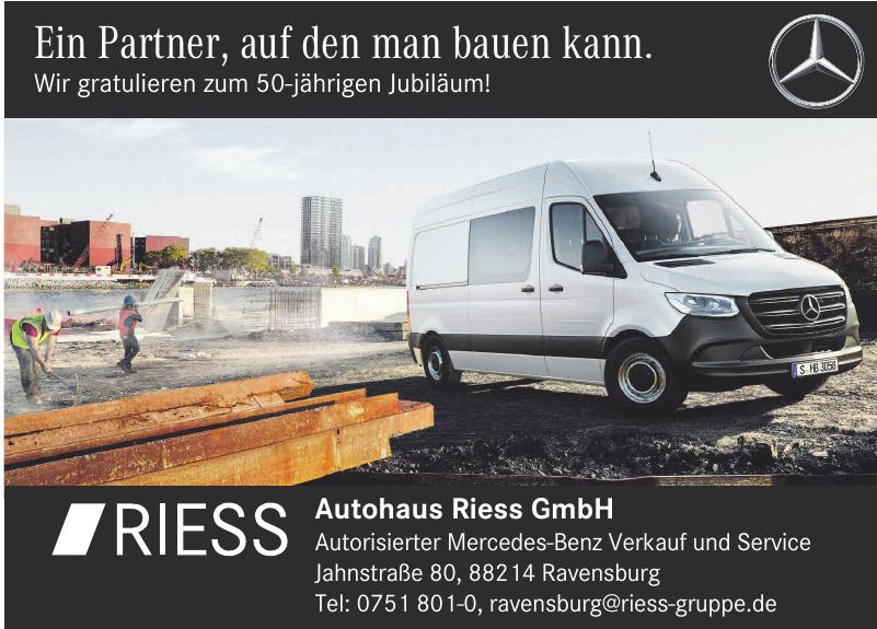 Autohaus Riess GmbH & Co. KG