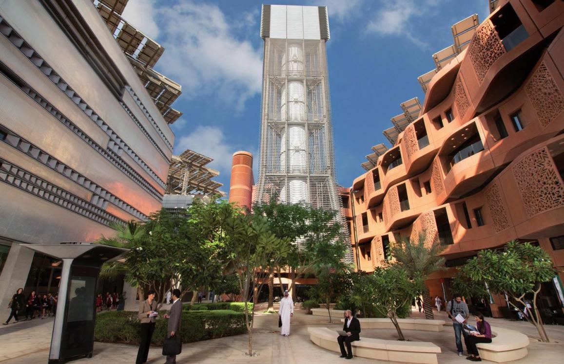 So tickt Masdar City: Innovative Technologien kombiniert mit lokal inspirierter Architektur© Masdar City