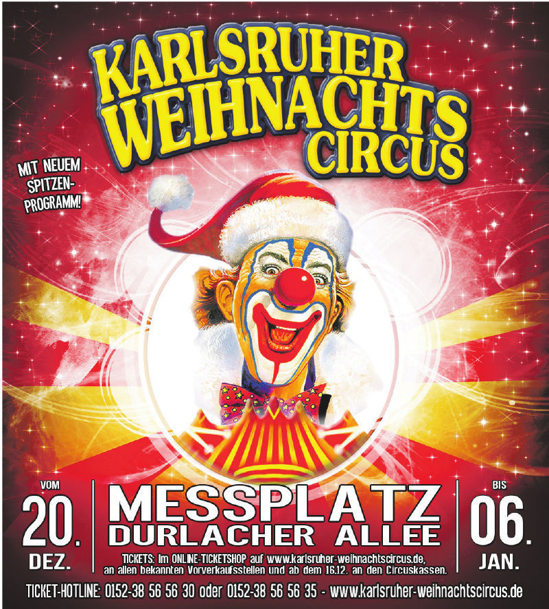 Karlsruher Weihnachts Circus