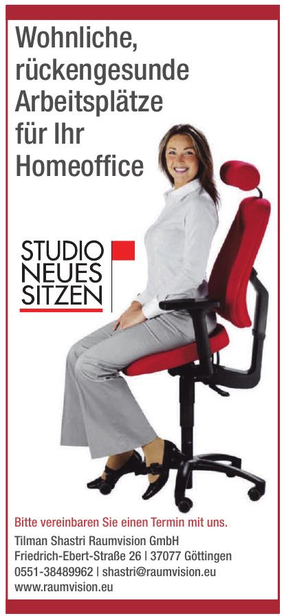 Studio Neues Sitzen der Tilman Shastri Raumvision GmbH