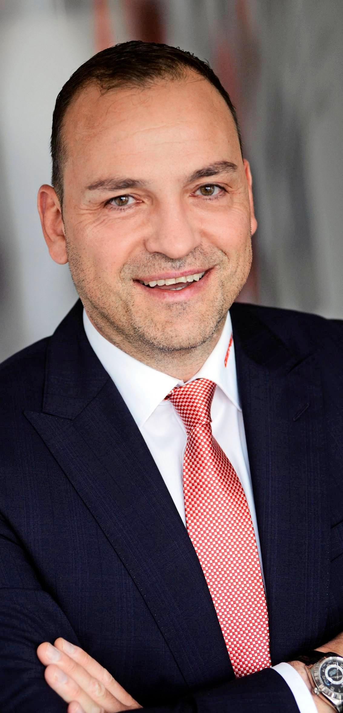 Gert Müller, geschäftsführender Gesellschafter der GEMÜ Gruppe.