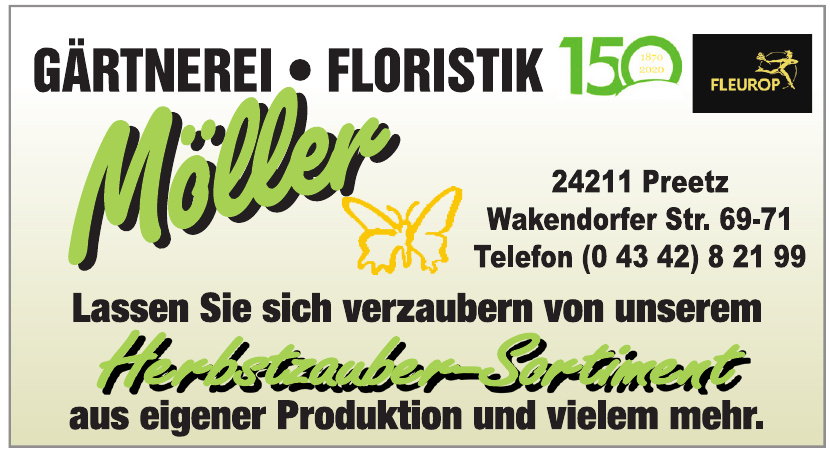 Möller - Gärtnerei - Floristik