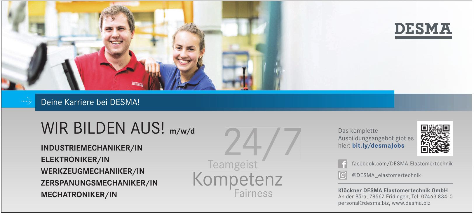 Klöckner DESMA Elastomertechnik GmbH