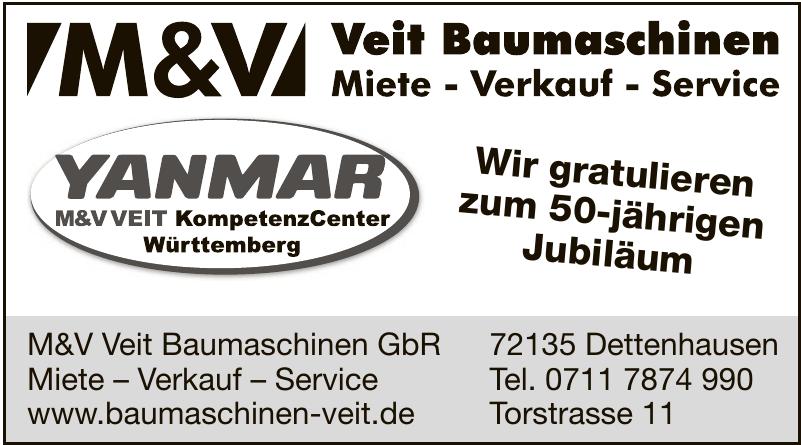 M&V Veit Baumaschinen GbR