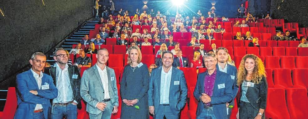 """Der erste Digital Summit Bergstraße/Ried fand im September in Bensheim im """"Luxor-Kino"""" statt. BILD: NEU"""