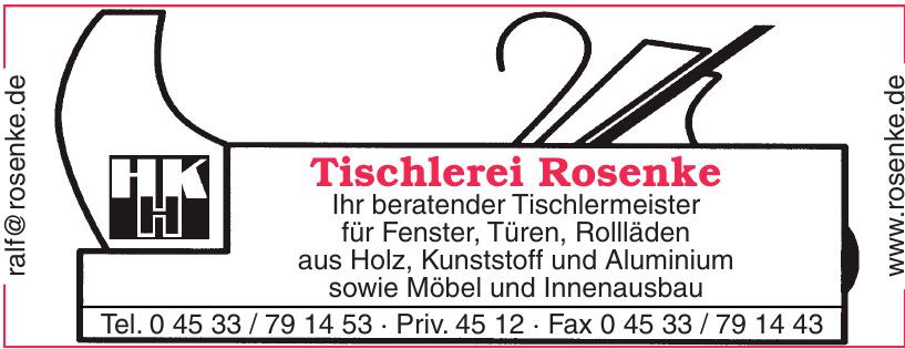 Tischlerei Rosenke