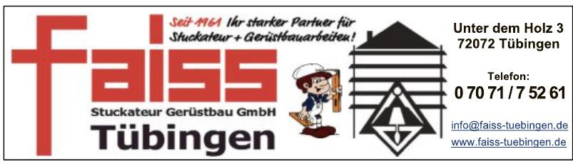 Faiss Stuckateur Gerüstbau GmbH