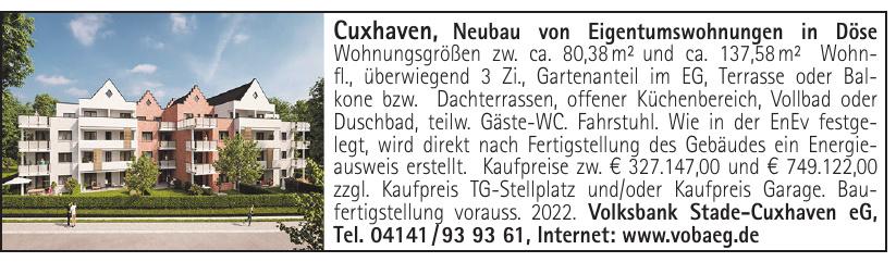 Volksbank Stade-Cuxhaven eG
