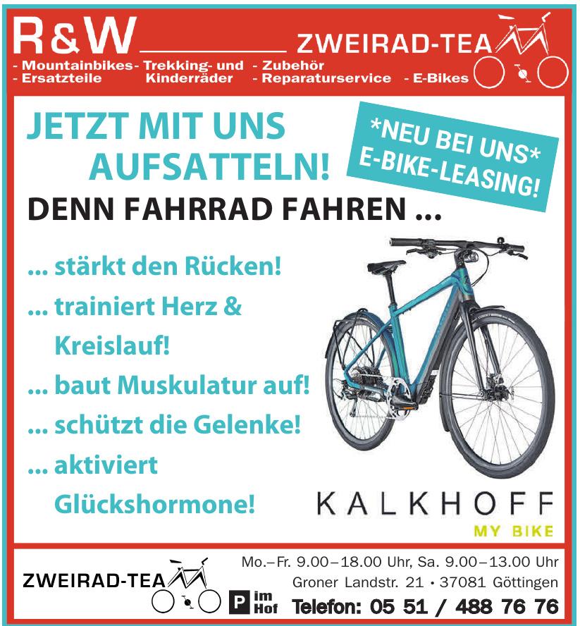 R & W Zweirad-Tea