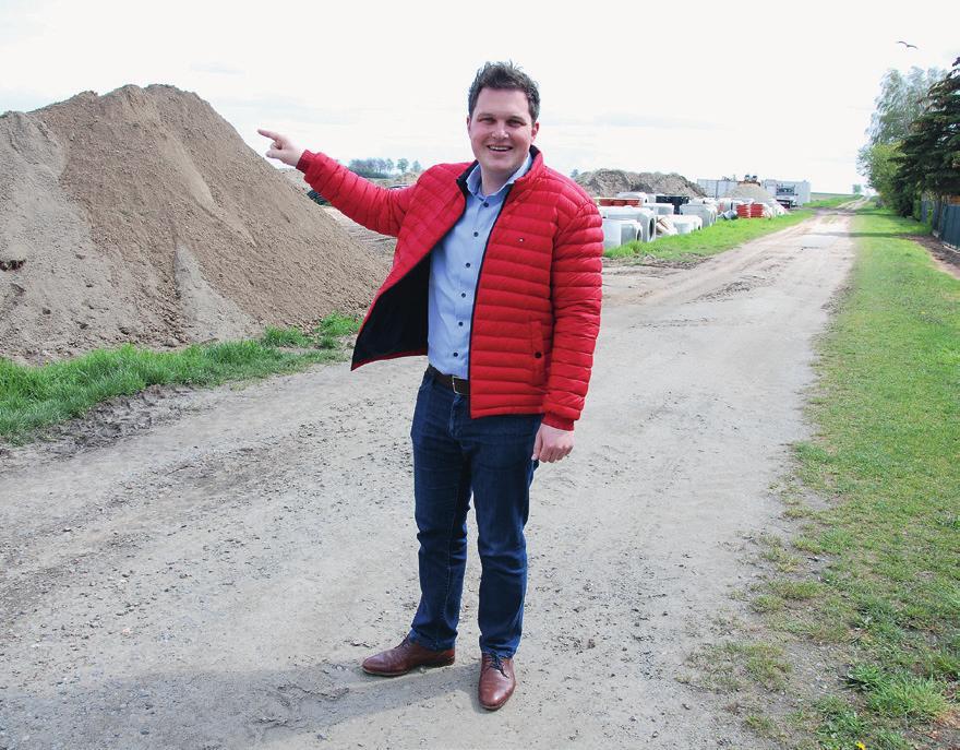 Philipp Raulfs stellt das Neubaugebiet Schierkenweg Nordost vor.