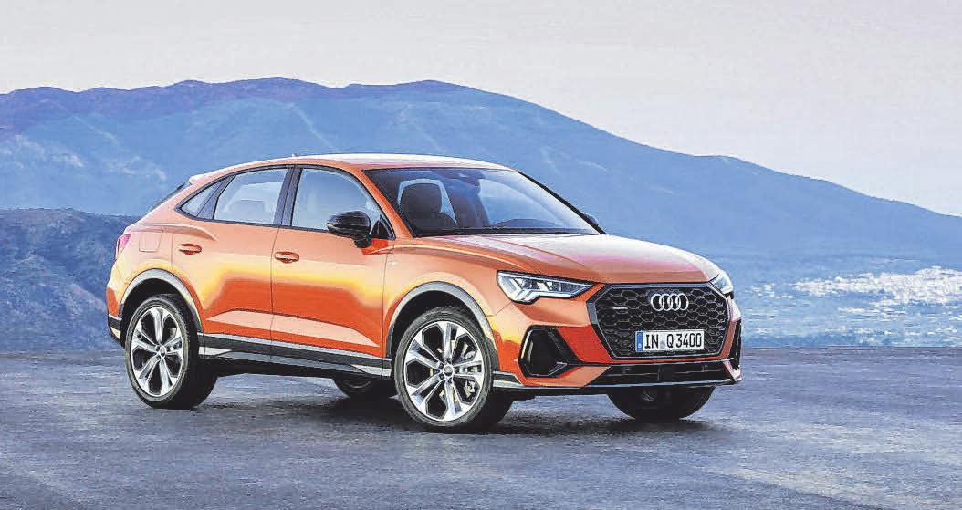 Extrovertiertes SUV-Coupé: Der neue Audi Q3 Sportback! FOTOS: AUDI