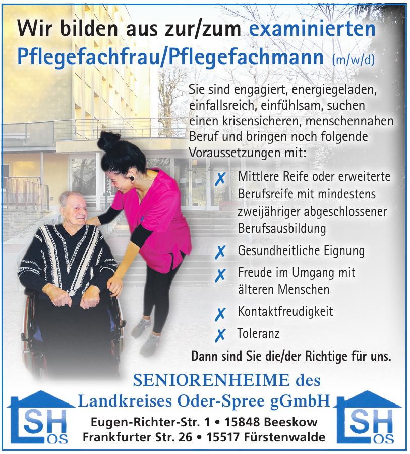 Seniorenheime des Landkreises Oder-Spree gGmbH