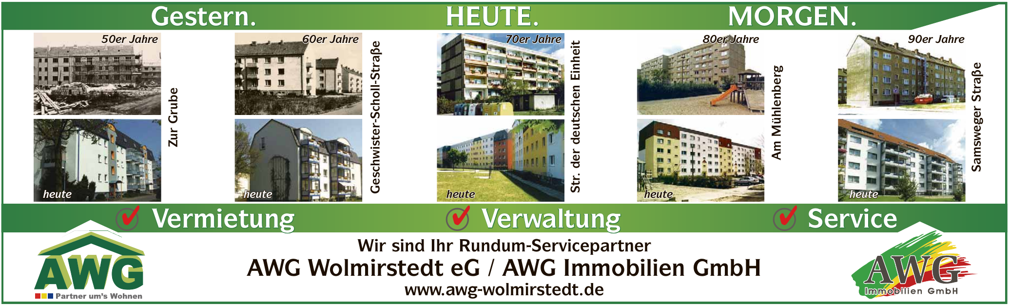 AWG Wolmirstedt eG / AWG Immobilien GmbH