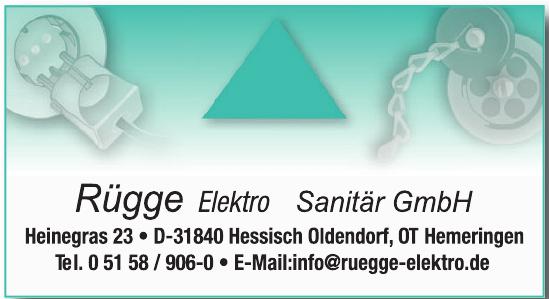 Rügge Elektro Sanitär GmbH