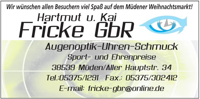 Hartmut und Kai Fricke Gbr