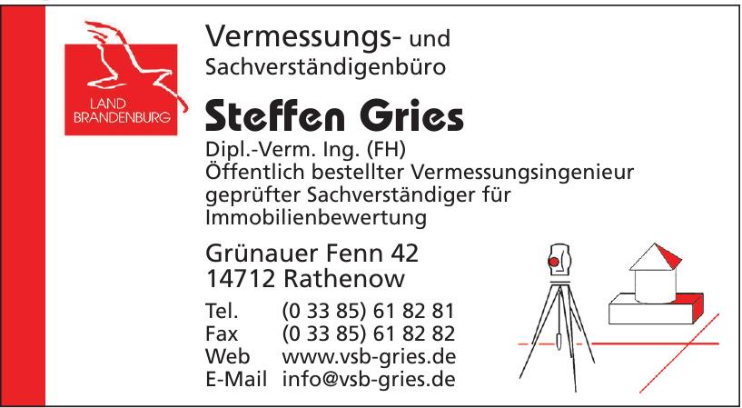 Steffen Gries, Vermessungs- und Sachverständigenbüro